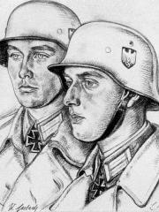 """<a href=""""http://wolfgang-willrich.de/page/werkverzeichnis/nach-motiven/koepfe/soldaten/heer/Gerlach_Waldemar.php"""" target=""""_self"""">Weitere Informationen - bitte hier klicken </a>"""