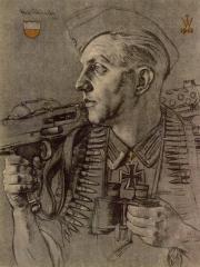 """<a href=""""http://wolfgang-willrich.de/page/werkverzeichnis/nach-motiven/koepfe/soldaten/heer/Oesterreicher_Karl.php"""" target=""""_self"""">Weitere Informationen - bitte hier klicken </a>"""