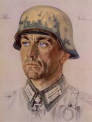 """<a href=""""http://wolfgang-willrich.de/page/werkverzeichnis/nach-motiven/koepfe/soldaten/heer/Scheunemann_Walter.php"""" target=""""_self"""">Weitere Informationen - bitte hier klicken </a>"""