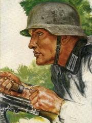 """<a href=""""http://wolfgang-willrich.de/page/werkverzeichnis/nach-motiven/koepfe/soldaten/heer/Volkmann_Gefreiter.php"""" target=""""_self"""">Weitere Informationen - bitte hier klicken </a>"""