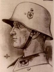 """<a href=""""http://wolfgang-willrich.de/page/werkverzeichnis/nach-motiven/koepfe/soldaten/waffen ss/Barnert_Walther.php"""" target=""""_self"""">Weitere Informationen - bitte hier klicken </a>"""